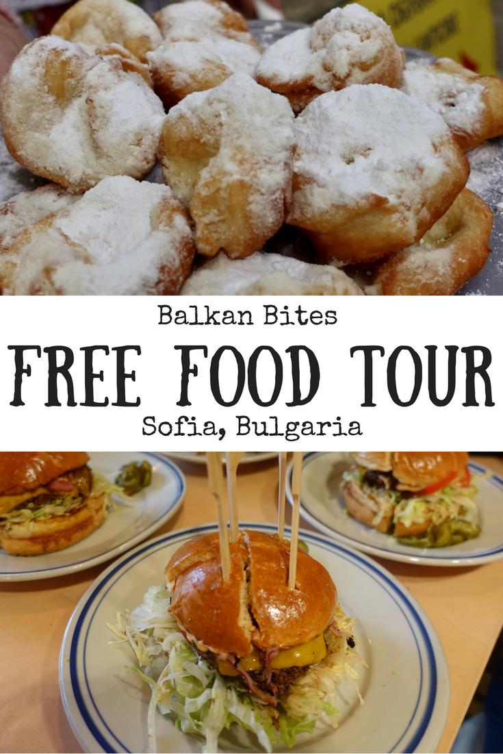 Balkan Bites Free Food Tour, Sofia, Bulgaria | Free tour Sofia | Food tour Sofia | Walking tour Sofia