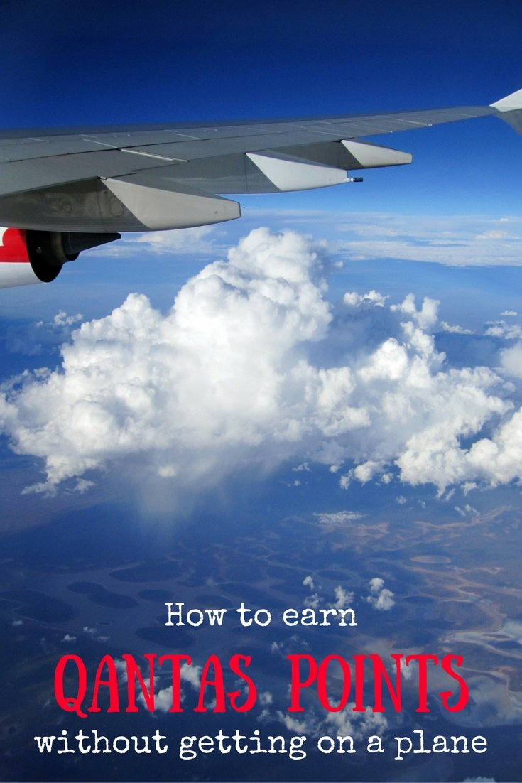How to earn Qantas Points | Qantas frequent flyer points | How to earn frequent flyer points
