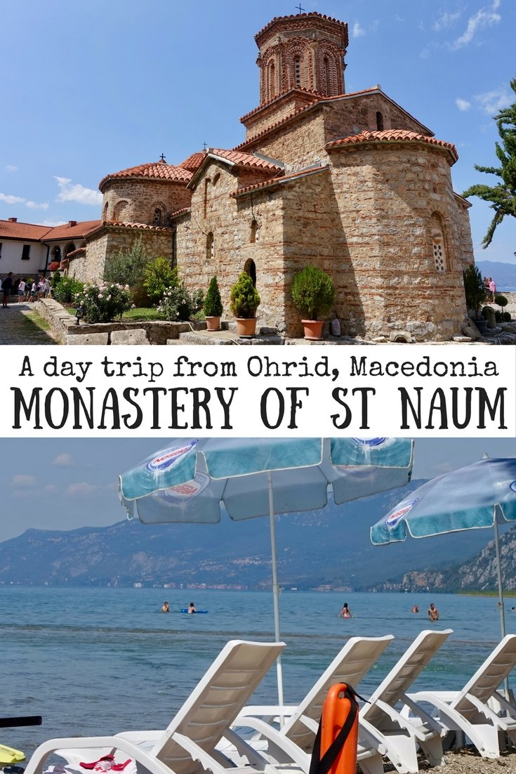 Monastery of St Naum | How to get to St Naum | Things to do in Ohrid, Macedonia | Day trip from Ohrid | #ohrid #macedonia #monasteryofstnaum #stnaum