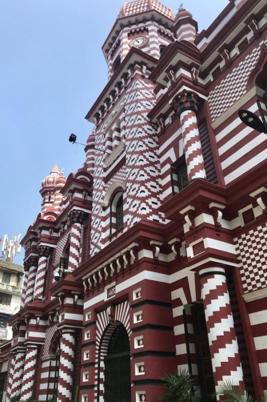 Red Mosque, Colombo, Sri Lanka