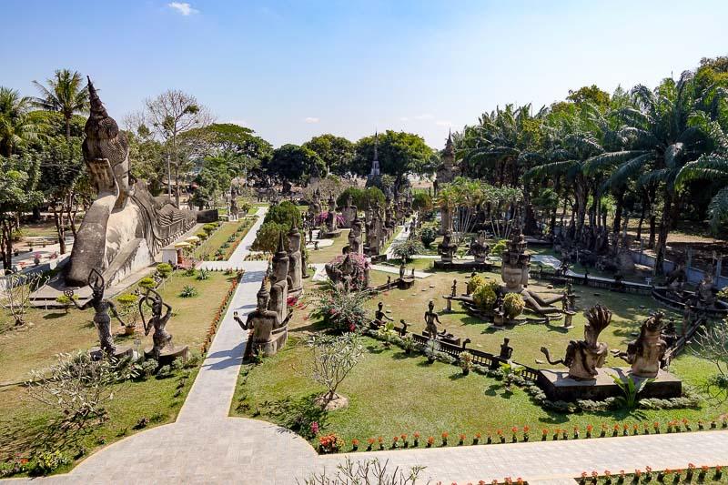 How to go to Buddha Park Vientiane
