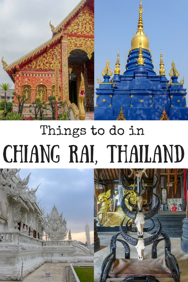 Things to do in Chiang Rai, Thailand | White Temple | Blue Temple | Black House | Chiang Rai attractions