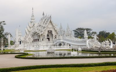 Visiting The White Temple, Chiang Rai Thailand