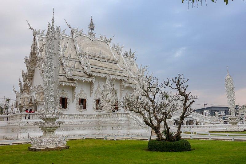 White Temple Chiang Rai inside
