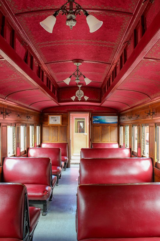 Cockle Train carriage