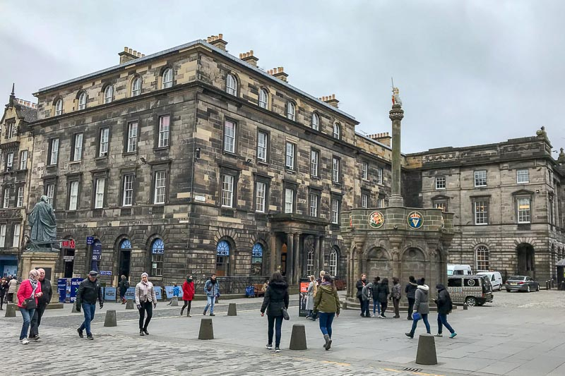 Edinburgh Mercat Cross