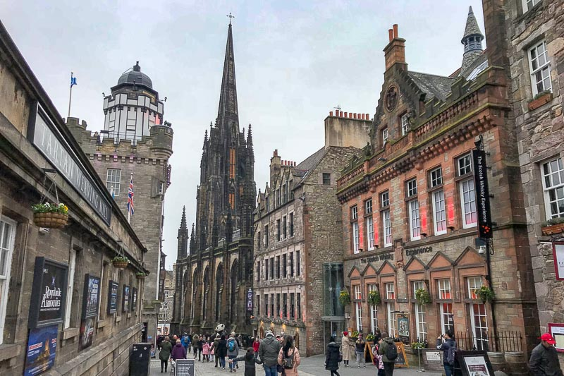 Edinburgh Royal Mile Scotland