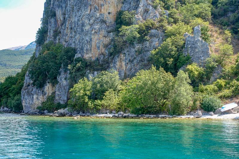 Lake Ohrid monastery