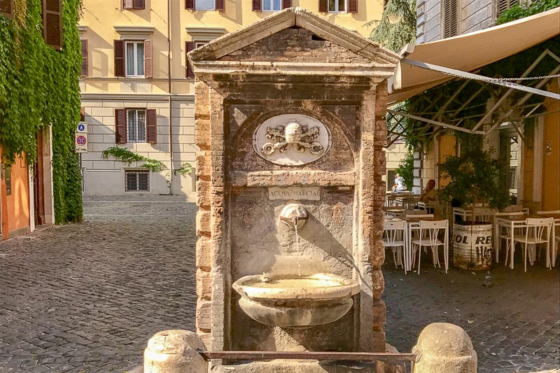Rome Water Fountain