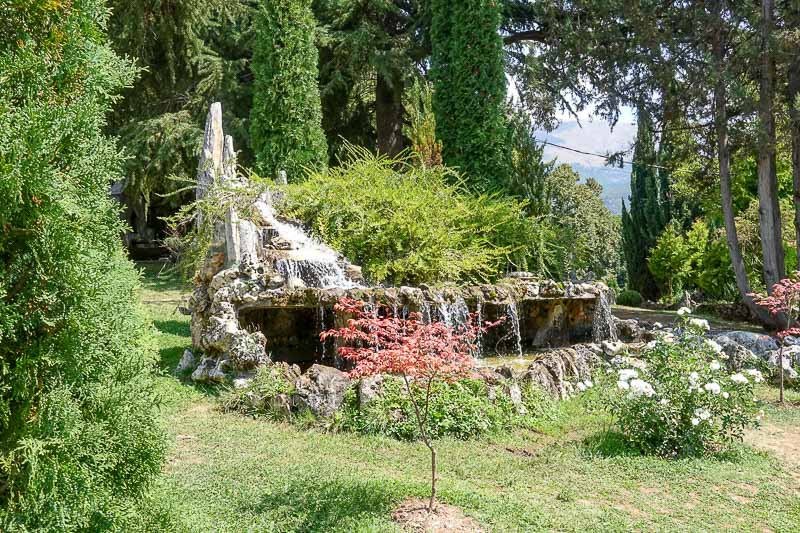Gardens of Saint Naum Ohrid