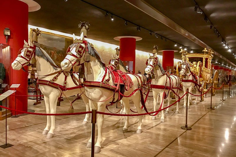 Vatican Museum Papal Carriage