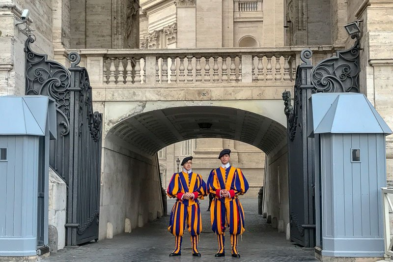 The Vatican Guards