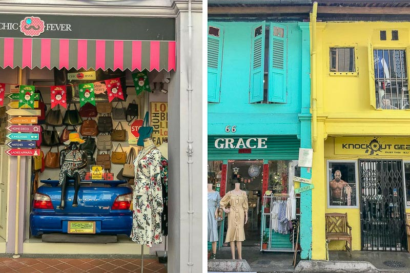 Haji Lane Shopfronts