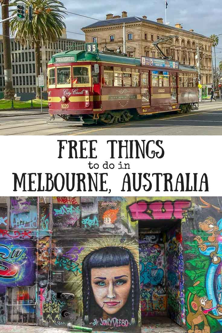 Free Things to do in Melbourne. Melbourne tram and street art