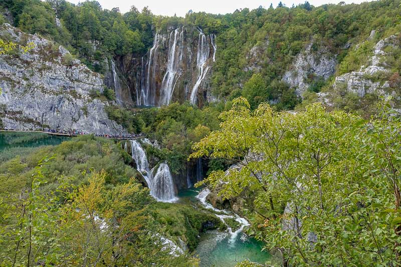 Plitvice Lakes Big Waterfall
