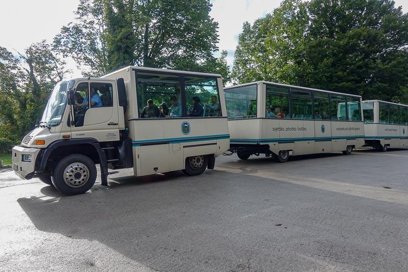 Plitvice Lakes Train