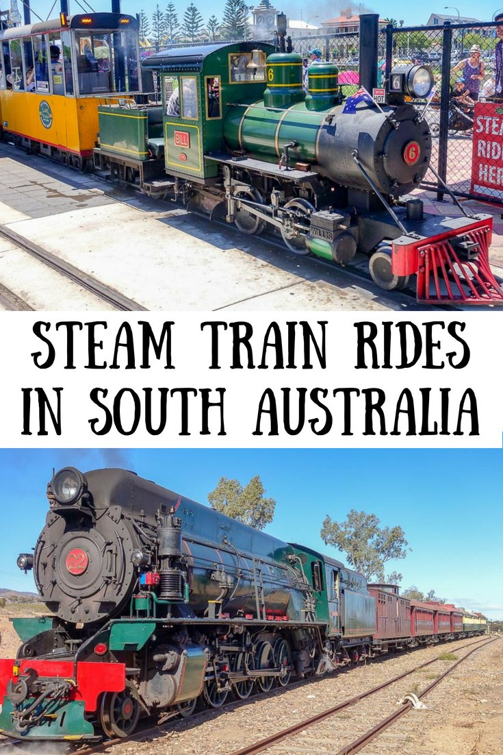 Steam Train Rides in South Australia | Things to do in South Australia | Train rides for kids | #southaustralia #Adelaide #steamtrains #trainrides #pichirichirailway #steamranger #cockletrain