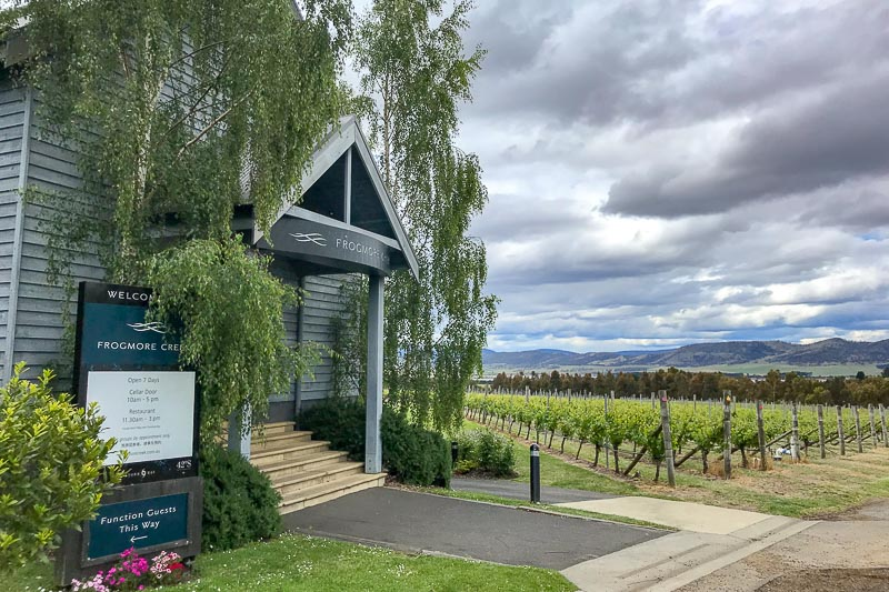 wineries richmond tasmania
