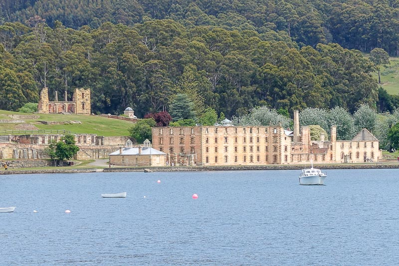 Port Arthur from Boat