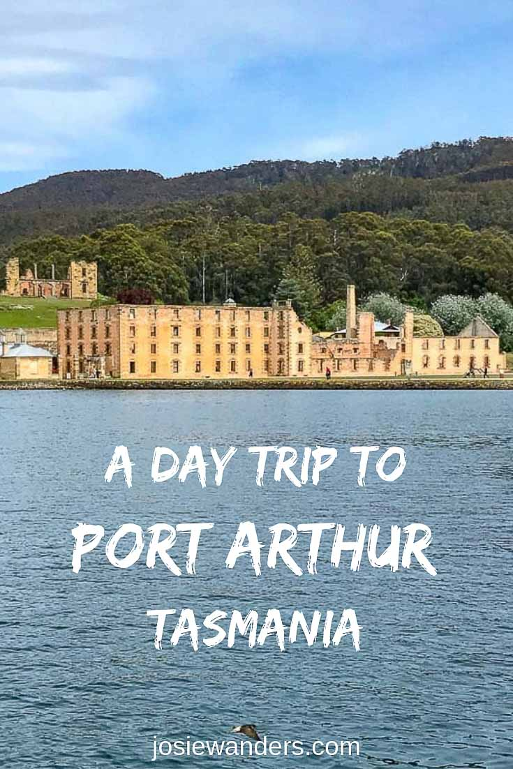 A day trip to Port Arthur, Tasmania pin image