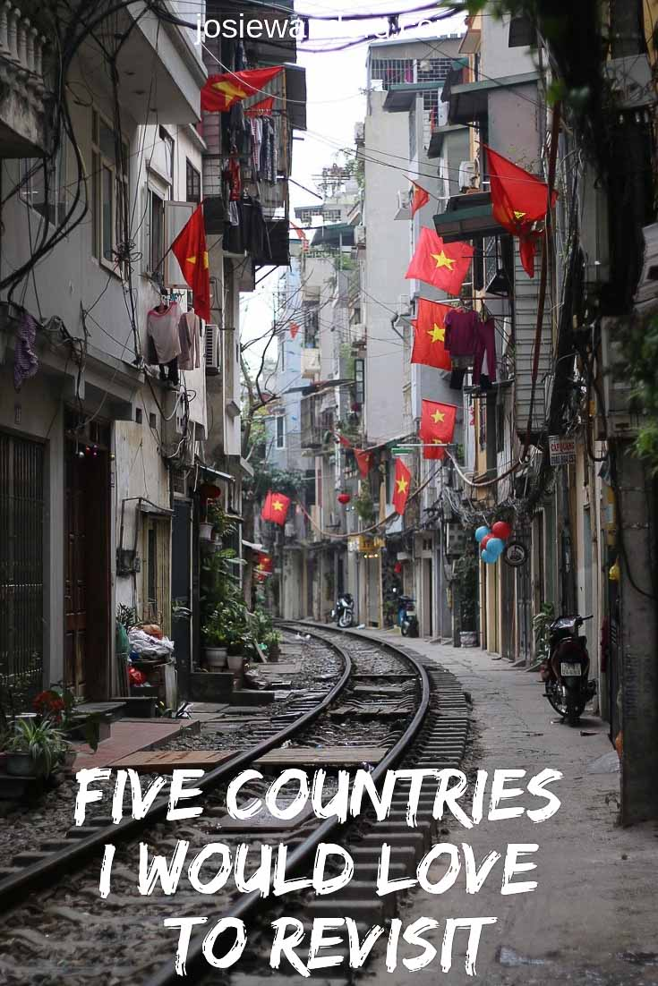 Five Countries I Would Love to Revisit | #turkey #vietnam #newzealand #portugal #scandinavia