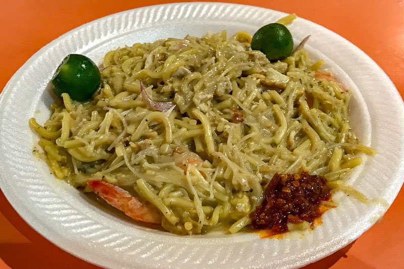 Fried Hokkien Prawn Mee