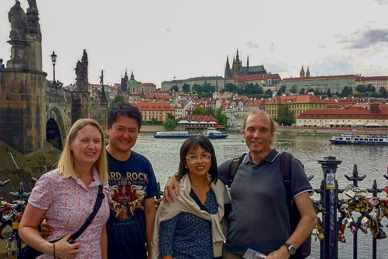 Friends in Prague