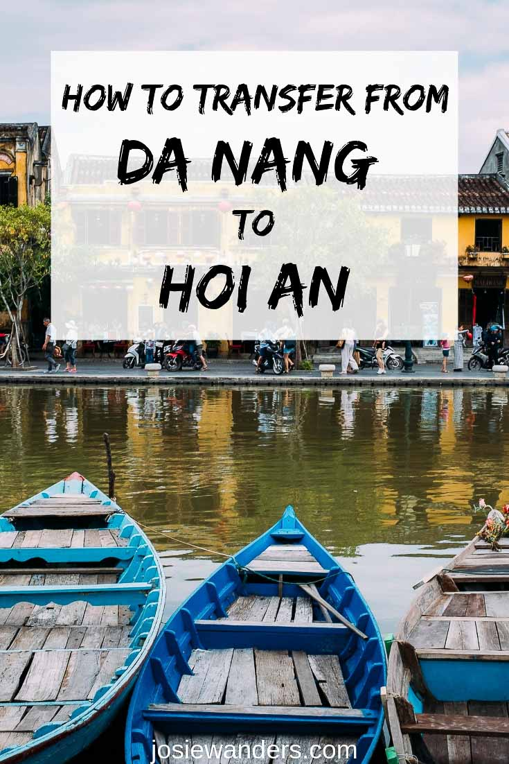 Most visitors to Hoi An, Vietnam, arrive by plane or train to Da Nang and then need to work out how to get to Hoi An. Here I give you are the options, to suit everyone from luxury to budget travellers | #vietnam #danang #hoian #airporttransfers #transport #travel #danagtohoian