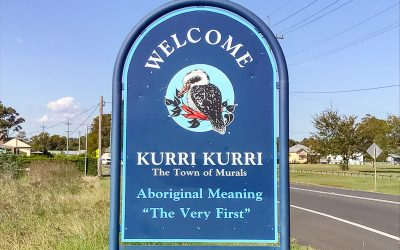Visiting the Kurri Kurri Murals