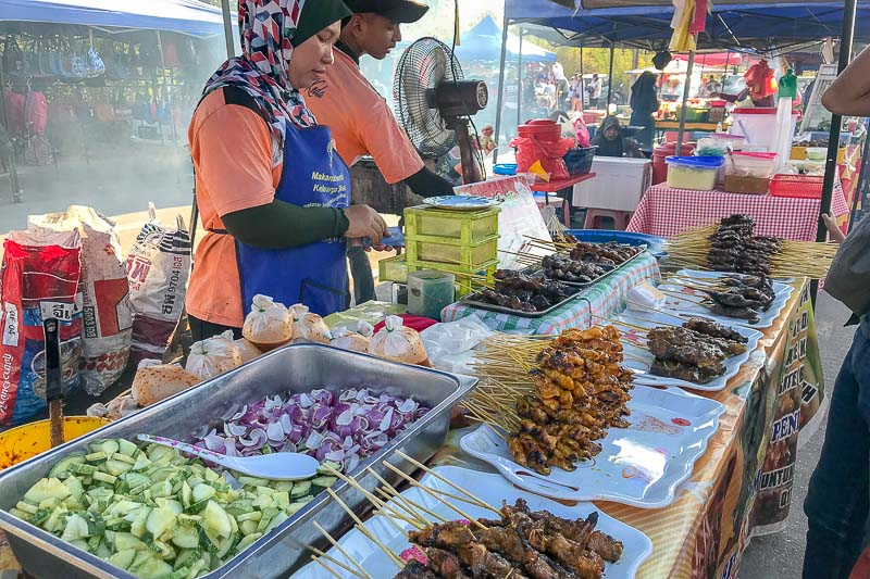 Langkawi Night Market Satays