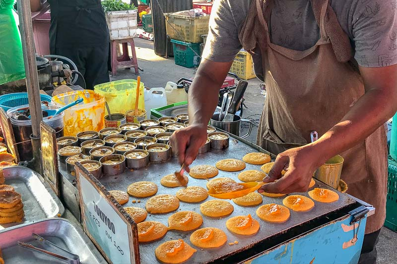 Langkawi Night Market pancakes