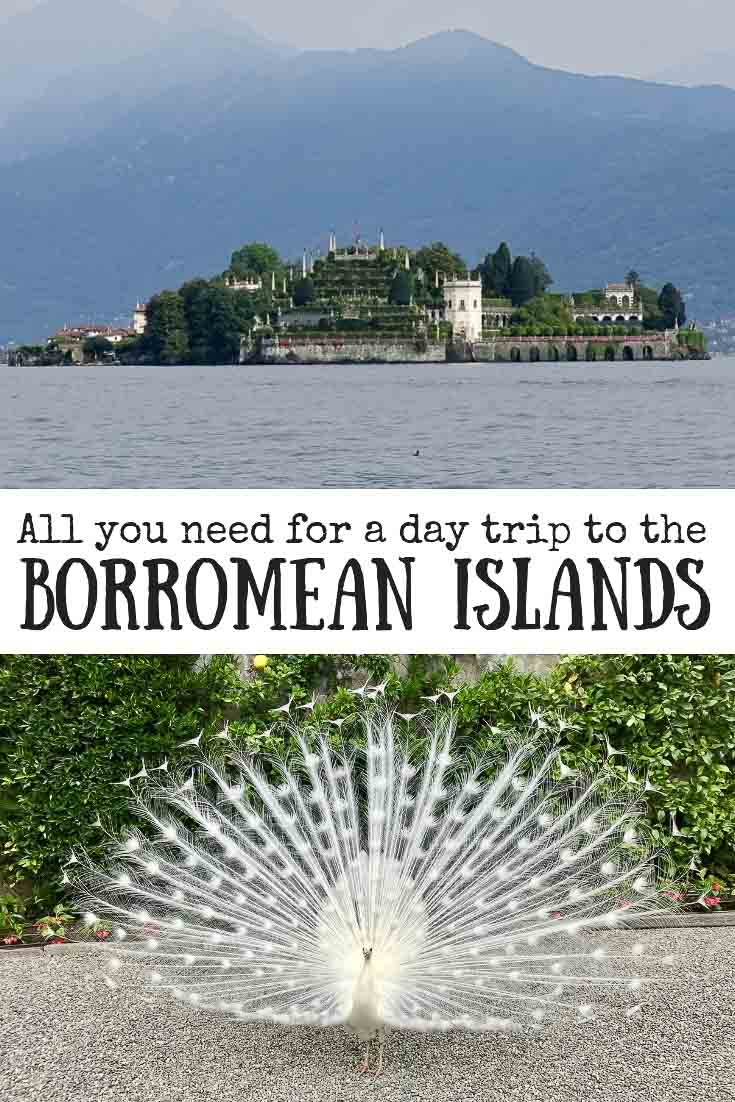 Information for a day trip to the Borromean Islands in Italy. including Isola Bella, Isola Pescatori, Isola Madre. Also includes how to get to the Borromean Islands, and entry costs | #italy #stresa #borromeanislands #isolabella #isolapescatori #isolamadre