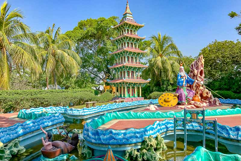Haw Par Villa, Singapore's First Theme Park