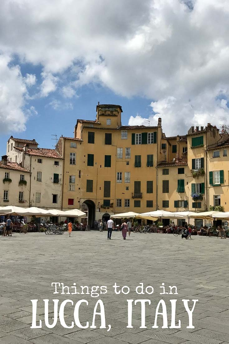The town of Lucca in Tuscany, Italy is known for it's impressive walled city. Here are some things to do in Lucca during your visit #travel #italy #lucca #europe #gapyear #genx