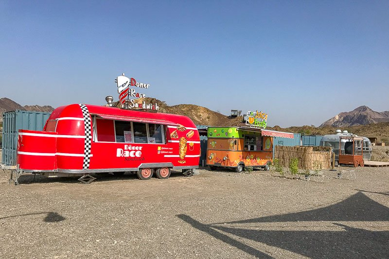 Hatta Wadi Hub Food Trucks