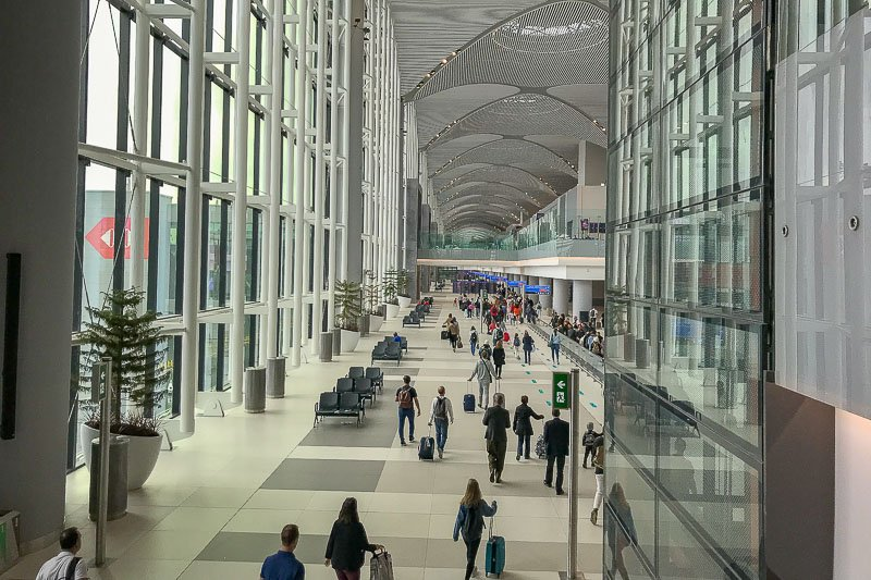 New Istanbul Airport Arrivals