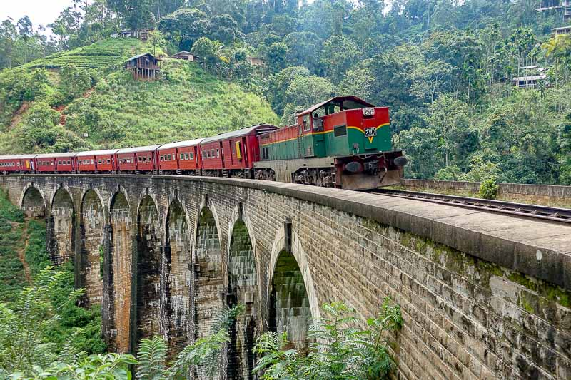 Nine Arches Bridge, Sri Lanka