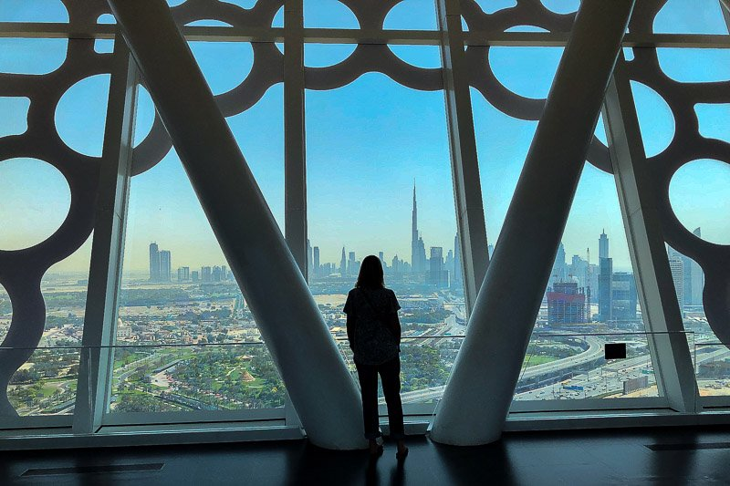 The Frame New Dubai View