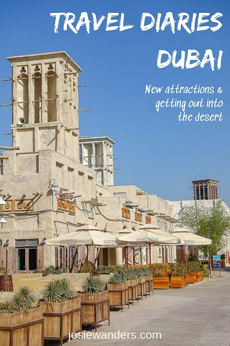 Travel Diaries Dubai pin image of Al Seef area Dubai