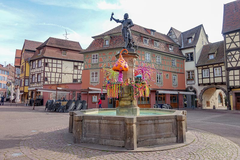 Colmar Fountain