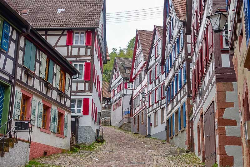 Schiltach street