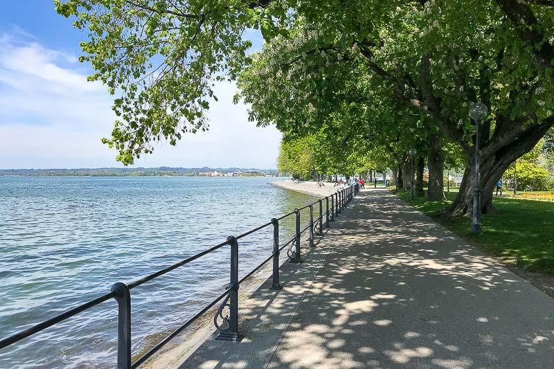 Bregenz Lake Front Walkway