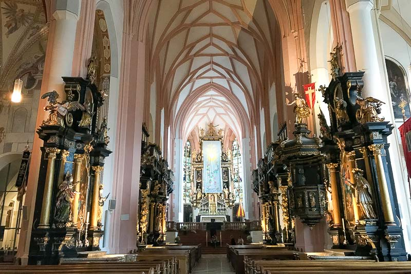 Church Mondsee Interior