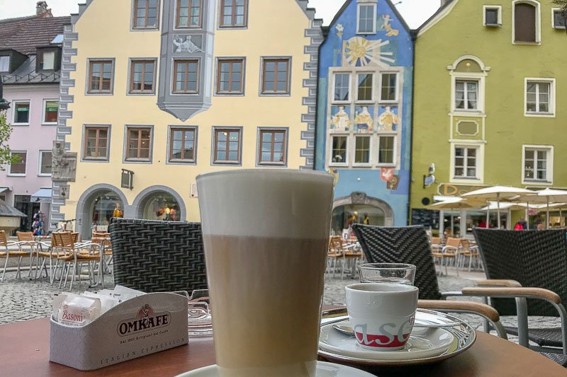 Coffee in Fussen