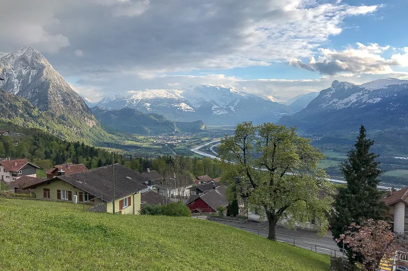 Liechtenstein Mountain View