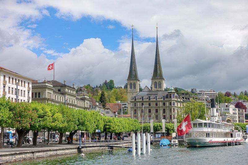 Lucerne Church Spires