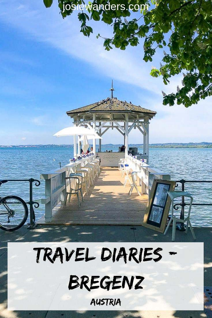 Travel Diaries Bregenz Pin