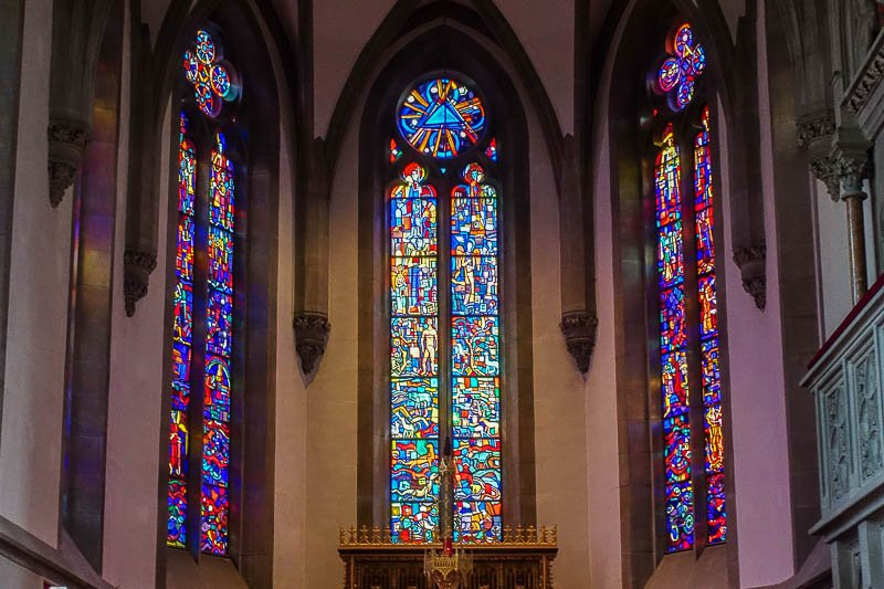 Vaduz Cathedral Stained Glass
