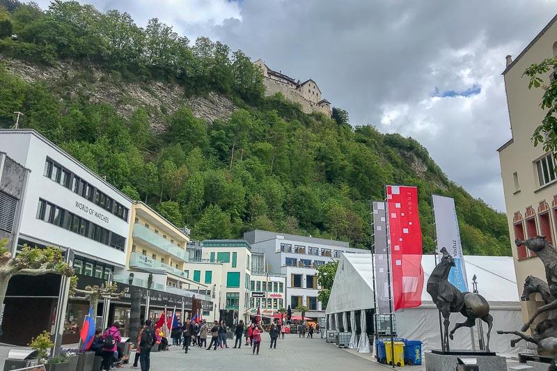 Vaduz Main Street