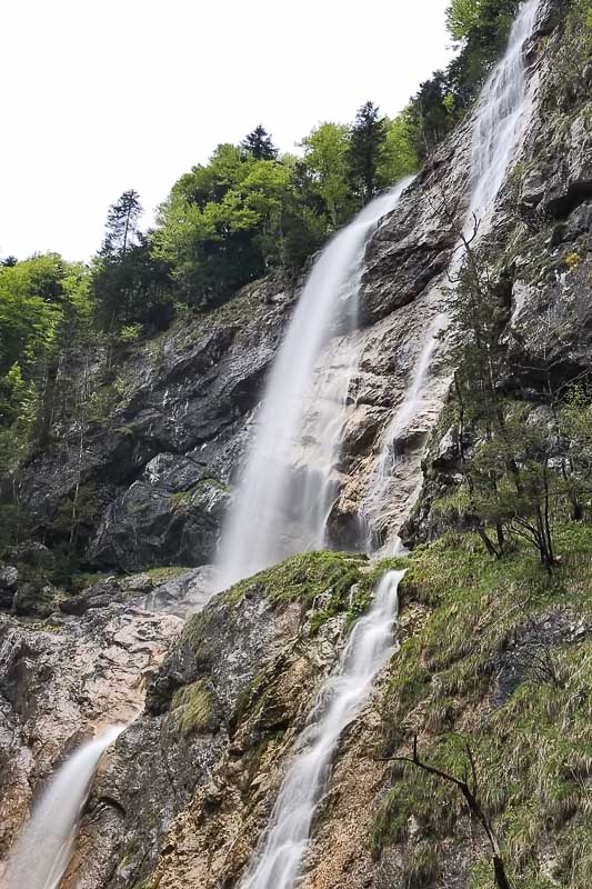 Waterfall near Hallstatt